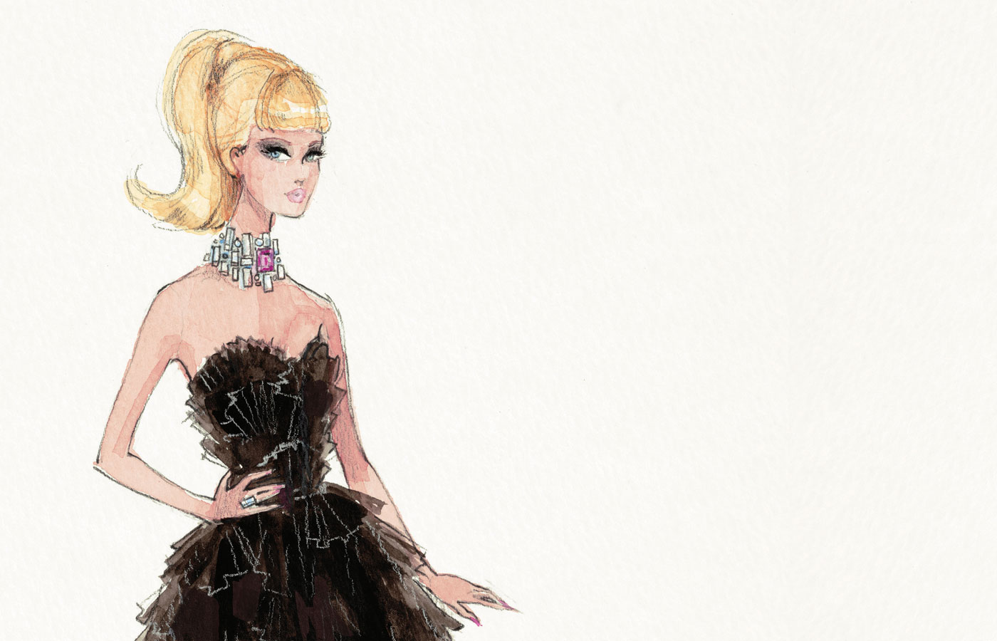 Barbie 174 By Stefano Canturi Designing For A Fashion Icon