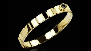 Canturi Eternal braclet in 18ct polished yellow gold.  Also available in 18ct white or pink gold.